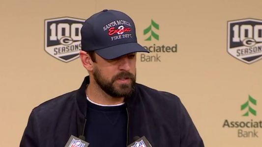 'Tough week:' Aaron Rodgers saddened by wildfire devastation in native California