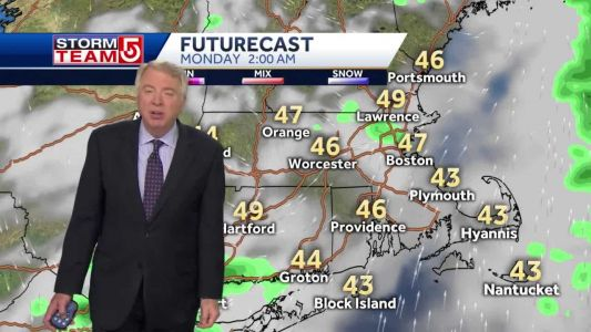 Video: Chilly overnight, mostly cloudy Sunday