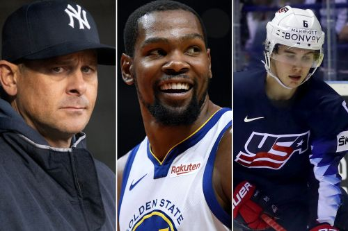 Kevin Durant center of attention in packed sports summer