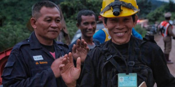 Meet the heroes of the daring rescue mission that brought 13 Thai soccer players to safety a year ago