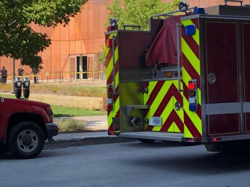 DEVELOPING: Downtown library evacuated after man lit himself on fire