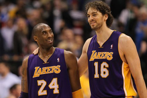 Ex-Laker Pau Gasol remembers Kobe Bryant on first anniversary of death