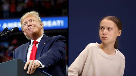 'Chill Greta, Chill!' Trump blasts Thunberg on Twitter after she's named TIME Person of the Year