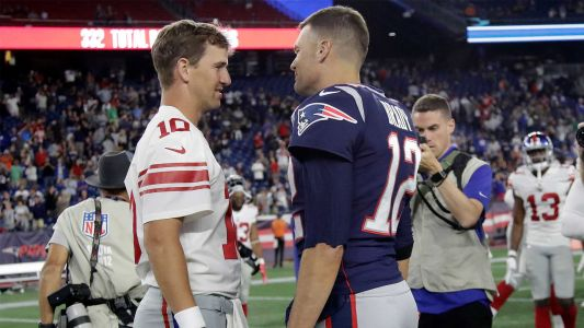 Brady congratulates Manning on 'great career'. except