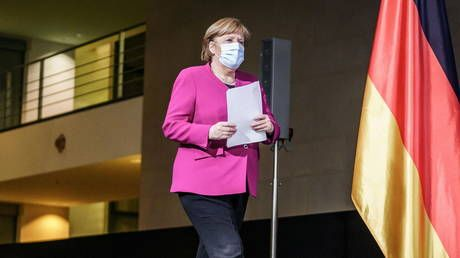 Candidates to succeed Merkel can't count on her support: Germany's veteran leader promises to stay out of debate