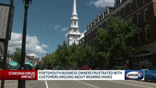 Portsmouth business owners frustrated with customers arguing about wearing masks