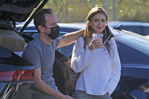 Lily Collins tailgates with her fiancé and more star snaps
