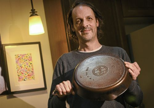 Channeling his Erie roots by restoring Griswold cast-iron skillets
