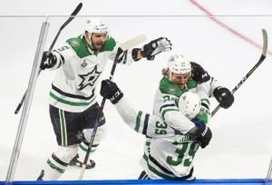 Unlikely scorers for Stars again to win Stanley Cup opener