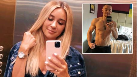 'Come visit me': Ukrainian karate queen TEASES Olympic gymnastics champ after revealing SPLIT from martial artist boyfriend