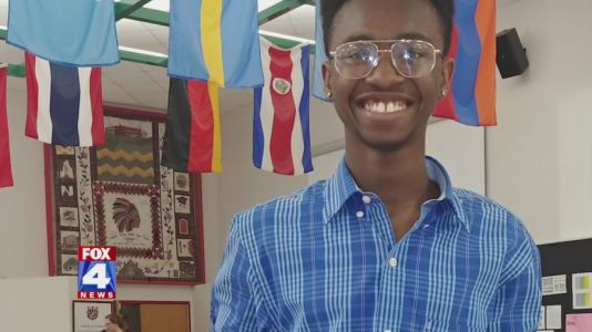 'It turned 2020 around for me': Kansas high school senior offered more than $1 million in scholarships