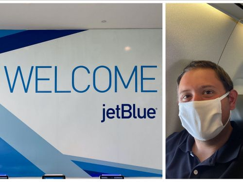 I flew on JetBlue for the first time during the pandemic and had a sterling onboard experience that couldn't make up for a chaotic terminal and last-minute flight cancellation