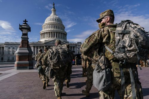 National Guardsmen allowed back into Capitol after being 'banished' to garage