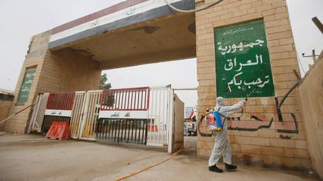 Iraq partially reopens trade crossing with Iran after 3 months of closure over virus