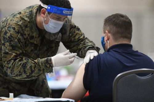 Gov. Pritzker announces 4 new mass vaccination sites in suburbs