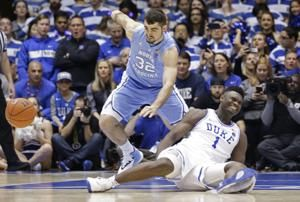 Duke's Zion Williamson day to day with mild knee sprain