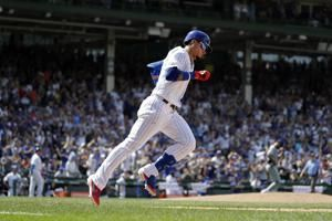 Báez, bullpen lead streaking Cubs over Padres 6-5