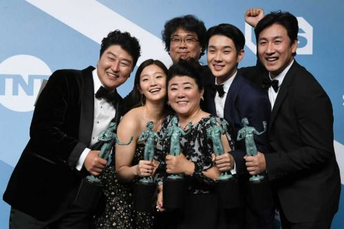 'Parasite' claims top prize in history-making Screen Actors Guild Awards