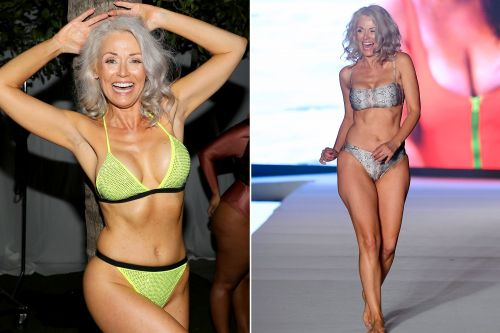 55-year-old model is a Sports Illustrated Swimsuit showstopper
