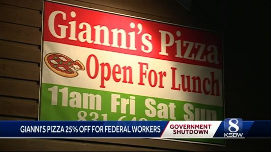 Gianni's Pizza helping out locals impacted by partial government shutdown