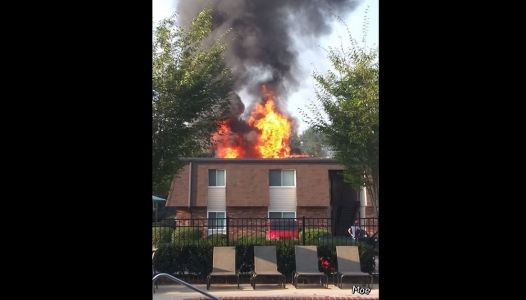 Six families displaced, firefighter injured after Anderson apartment fire, officials say