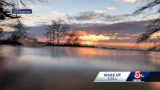 Wake Up Call: Moving view of sunrise in Carver