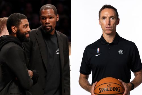 Kevin Durant, Kyrie Irving raise alarms with bizarre Nets coaching plan