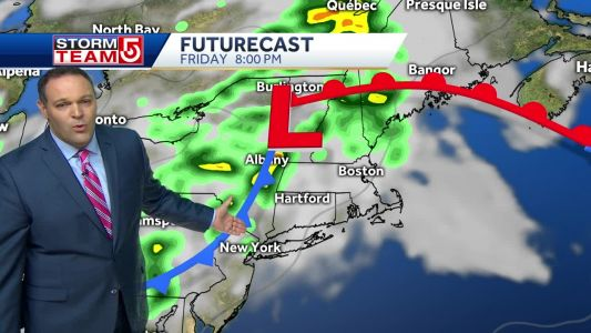 Video: Here's where, when storms will arrive Friday