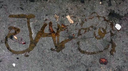 San Francisco's homelessness crisis is so bad, people appear to be using poop to graffiti the sidewalks