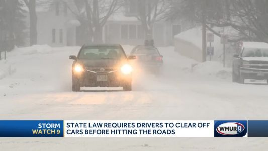 Safety reminders as winter storm hits NH