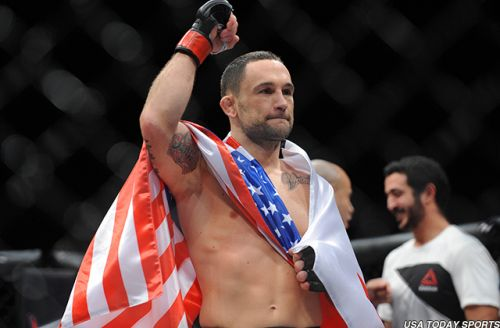 Ahead of 25th UFC fight on UFC's 25th anniversary, Frankie Edgar still 'can't believe I fight for a living'