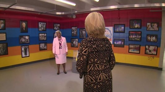 Pearlie Harris raises awareness for breast cancer on Project CommUNITY Conversations