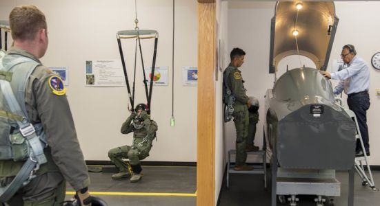 12th OSS egress training saves lives