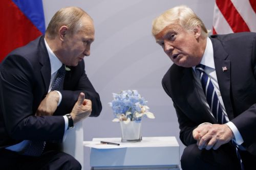 Trump says he'll reveal what his goals are with Putin 'after the meeting'