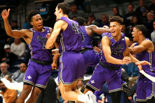 Defending national champion Villanova stunned by Furman