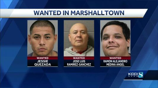 Marshalltown PD search for three men in separate crimes