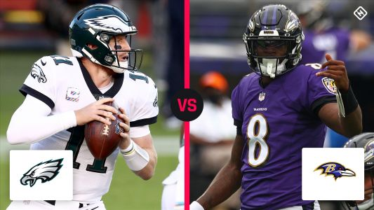 What channel is Eagles vs. Ravens on today? Time, TV schedule for Week 6 NFL game
