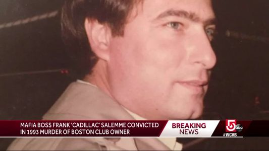 Ex-New England Mafia boss 'Cadillac Frank' convicted of murder
