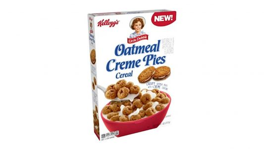 Little Debbie's Oatmeal Creme Pie becomes Kellogg's newest cereal