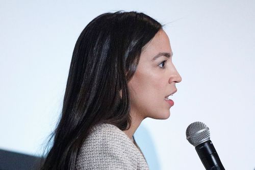 Ocasio-Cortez, other Democrats squeeze big banks on guns, immigration, climate