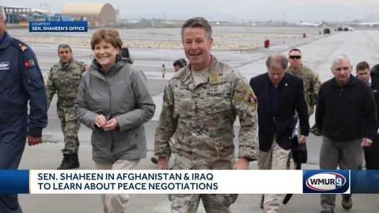 Sen. Shaheen in Afghanistan, Iraq to learn about peace negotiations