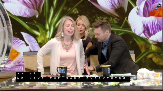 Watch: Pewaukee woman steals the show on LIVE with Kelly and Ryan
