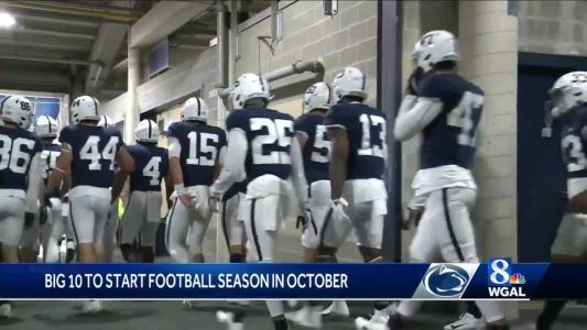James Franklin 'fired up' about Penn State being able to play football this fall
