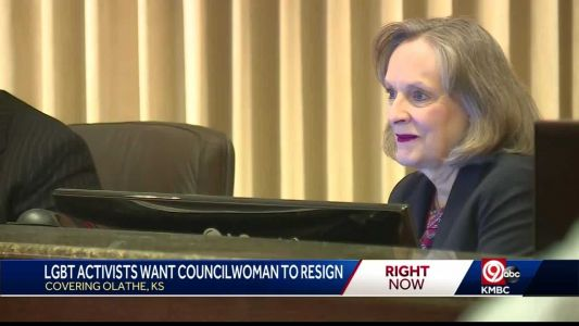 Gay rights advocate calls for Olathe city councilwoman to resign