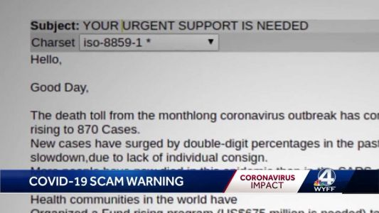 Officials warn of scammers preying on fears of coronavirus