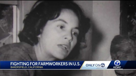 Only on 7: Dolores Huerta 'criticized' for activism work; Looking back at work with Chavez, Kennedy