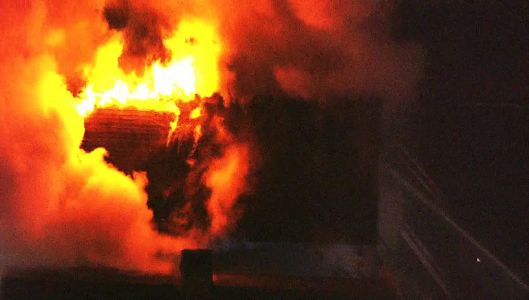 WATCH LIVE: Firefighters battle large flames in Forward Township house fire