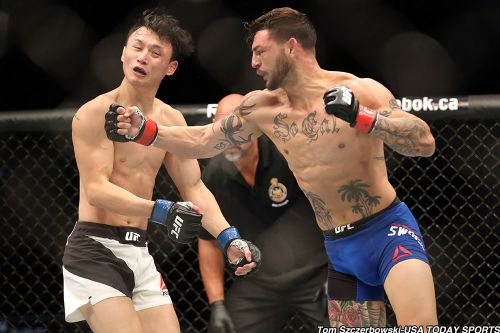 Cub Swanson vs. Renato Moicano set for UFC 227 in Los Angeles