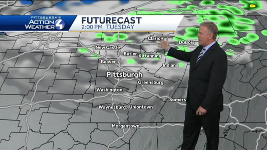 Forecast: Colder air moving in