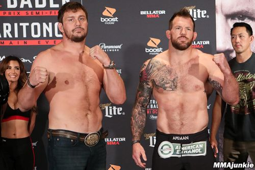 Photos: Bellator 207 ceremonial weigh-ins